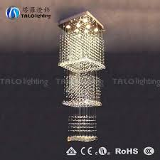 made in china modern led crystal chandelier for stair light