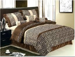 zebra print sheets animal comforter queen cheetah twin xl sets king size