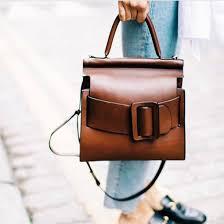 bag brown bag handbag minimalist bag satchel bag leather brown leather bag brown leather fall