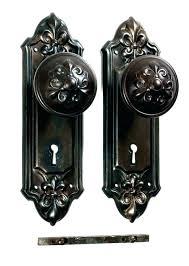 antique glass door knobs value for old dummy knob repair