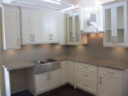 image of kitchen design white shaker cabinets