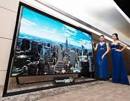 samsung tv 2014. the world\u0027s largest \u2013 samsung \u0027s 110-inch uhd tv tv 2014