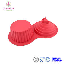 Silicone Large Cupcake Pan Directions Instructions Giant Cake Canada