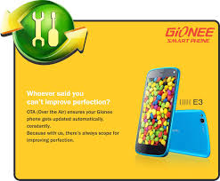 Gionee Elife E3 gets new features via ...