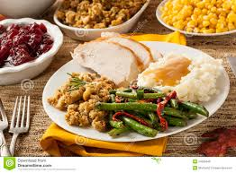 Image result for thanksgiving and turkey dinner