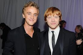 Collection by cherry nelson • last updated 18 hours ago. Harry Potter Stars Rupert Grint Tom Felton On Returning To Franchise Ew Com