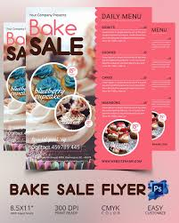 Bake Sale Flyer Template Beautiful Bake Sale Flyer Template