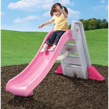Step2 Big Folding Slide, Pink, Plastic Slide and High-Side Rails -  Walmart.com