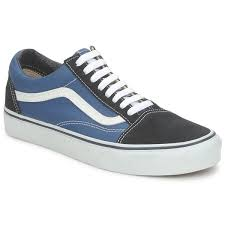 vans shoes blue and black. cheap vans old skool low top shoes (blue) blue and black