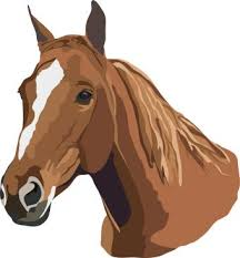 horse head clip art color.  Color Horse And Head Clip Art Color Clipart Library