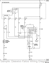 2005 daewoo kalos wiring diagram and electrical system schematic daewoo kalos wiring diagram