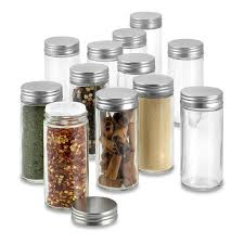extra spice jar replacements set of 12