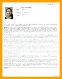 Resume Bio Example Custom Staff Bio Template Chef Examples Sample Resume Samples Professional
