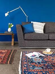 dark grey sofa designer standard lamp