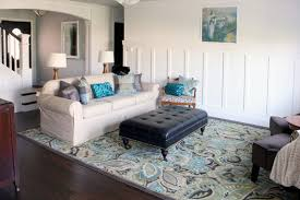 Remodelaholic My Living Room Finished Or Not Mesmerizing Living Room Turquoise Remodelling