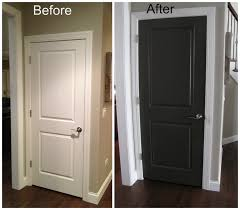 inspiring remodeling painting wooden black interior doors with inspired color painting with wood floors as gorgeous living room decor ideas
