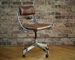vintage wooden office chair. vintage industrial office chair by domore company wooden n