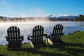 adirondack chairs lake. Simple Chairs Adirondacks Photograph  Adirondack Chairs Overlooking Mirror Lake In  Placid By Toby McGuire And A