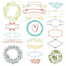 Decorative Design Simple Decorative Design Elements Vector Free Download
