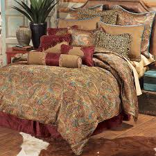 stunning tan paisley bedding western san angelo collection lone star decor and white