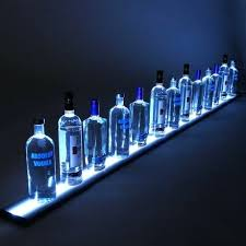 led liquor shelf medium a led liquor shelf led lighted liquor shelves bottle display