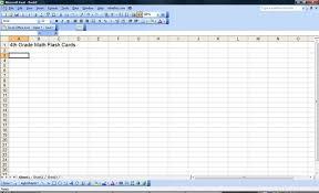 Spreadsheet Basics HOW TO MAKE FLASHCARDS  YouTubeMake Flashcards From Excel
