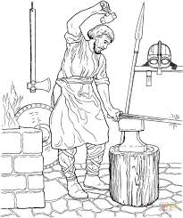 Viking Coloring Pages To Printable Jokingartcom Viking Coloring Pages