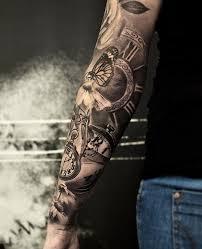 Tetování Hodiny 3d