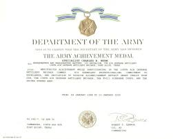 Military Certificate Templates Seal Appreciation Certificate Printable Military Templates Pics 62