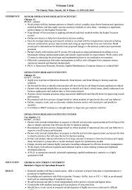 Research Scientist Resume Sample Operations Research Scientist Resume Samples Velvet Jobs 18
