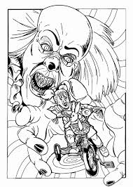 4 Pennywise Drawing Coloring Page For Free Download On Ayoqqorg