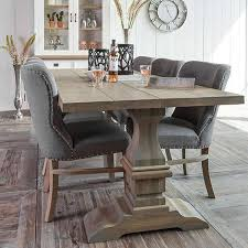 dining room table and fabric chairs. grey luxe daisy upholstered dining chair (pair) room table and fabric chairs