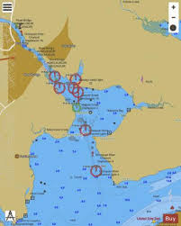 Potomac River Depth Chart Potomac River Occoquan And Belmont Bay Va Inset 10 Marine