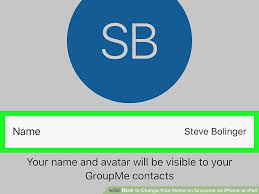 How to Change Your Name on Groupme on iPhone or iPad 6 Steps
