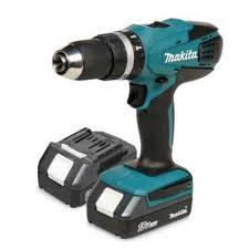 makita 18v drill. makita cordless 18v li-ion combi drill 2 batteries hp457dwex2: amazon.co.uk: luggage 18v 4