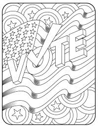 presidential election coloring pages election drawing at getdrawings free for personal use election