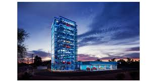 Car Vending Machine Phoenix Classy Carvana Opens The Country's Largest Car Vending Machine In Tempe