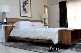 Full Size of Bedroom:superb Design Diy Platform Ideas Natural Brown Wooden  Solid Woode Headboard ...