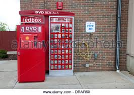 Movie Vending Machine Delectable A Redbox Movie Rental Vending Machine Stock Photo 48 Alamy