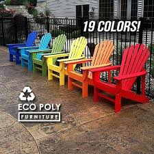 Adirondack Chairs From Recycled Plastic Recycled Plastic Adirondack