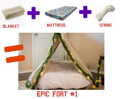 Easy Forts To Build 3 Easy Diy Forts Using Household Items The Realistic Mama