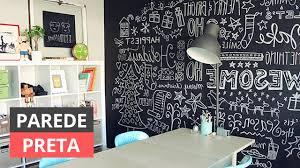 Veja mais ideias sobre adesivo preto fosco, parede, parede de quadro negro. Parede Preta 57 Projetos Marcantes Para Se Inspirar