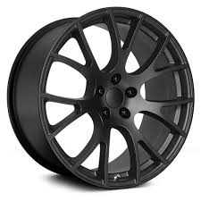 TOPLINE REPLICAS® HELLCAT Wheels - Satin Black Rims