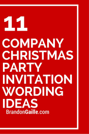 corporate luncheon invitation wording 11 company christmas party invitation wording ideas party
