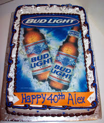 Bud Light Birthday Bud Light Birthday Cakes Bud Light Birthday Cakes For