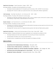 Sharepoint Sample Resume Format For Resume For Pre Sales Carpinteria Rural  Friedrich
