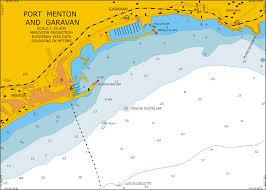 Nautical Charts Croatia Free Mediterranean Sea France Port Menton_garavan Scale 1 20