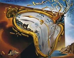 the melting watch 1954 by salvador dali