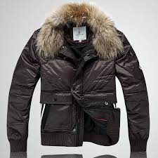 Cheap Moncler Jacket Moncler Men Fur Collar Fashion Jackets Khaki,moncler  italy,moncler jackets on sale,Outlet Online