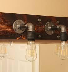 Lighting Fixtures Bathroom Diy Industrial Bathroom Light Fixtures